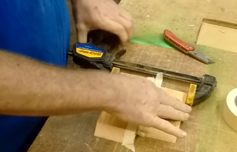 Eliminate glue squeeze out altogether