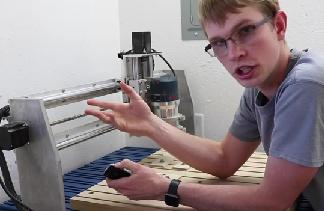 Some Details About A Home Built CNC machine