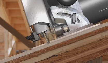 Circular Saw Kickback – Graphic Content