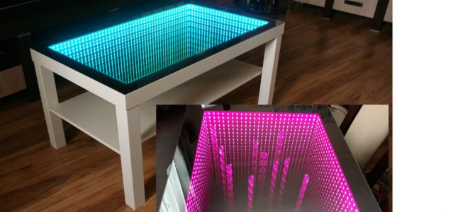 Build an Infinity Window Coffee Table