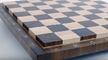 Making an end grain chessboard