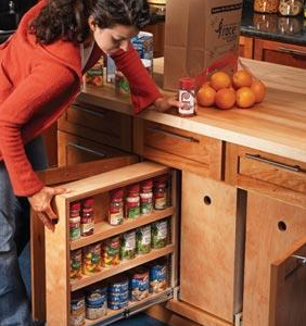 Rollouts for Increased Kitchen Storage