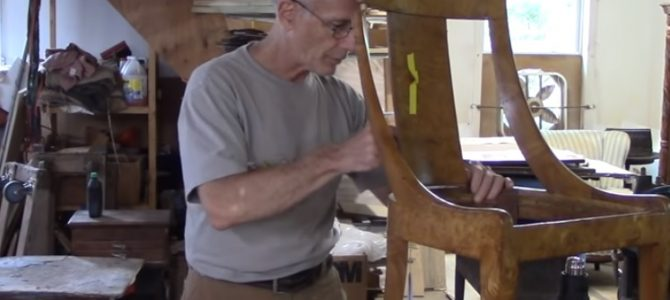 Restoring an Antique Gondola Chair