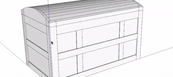 Creating a Curved Trunk Lid in SketchUp