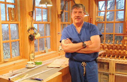 Surgeon brings precision to woodworking hobby