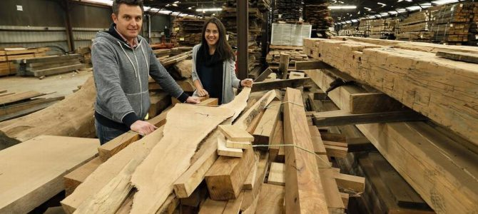 Reclaimed Wood is Chic and Big Business