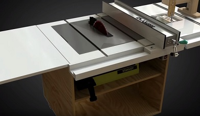 Homemade Portable 3-in-1 Table Saw with Built-in Router and Jigsaw tables