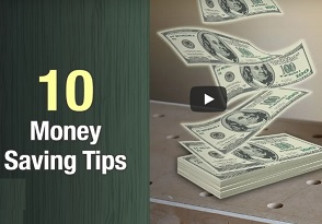 10 Money Saving Tips for Woodworkers