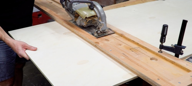 Build Your Own Track Saw for Straight, Accurate Cuts