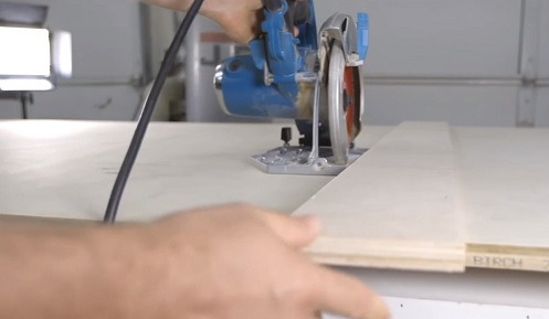 Moving and Cutting large Sheets of Plywood